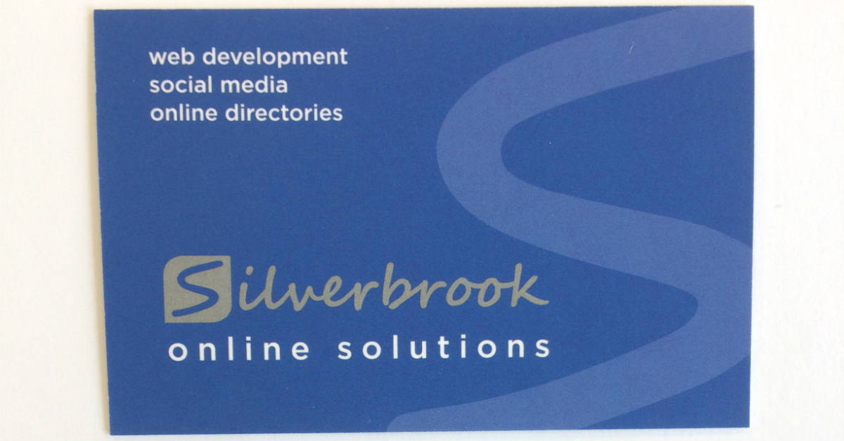 New business cards for Silverbrook