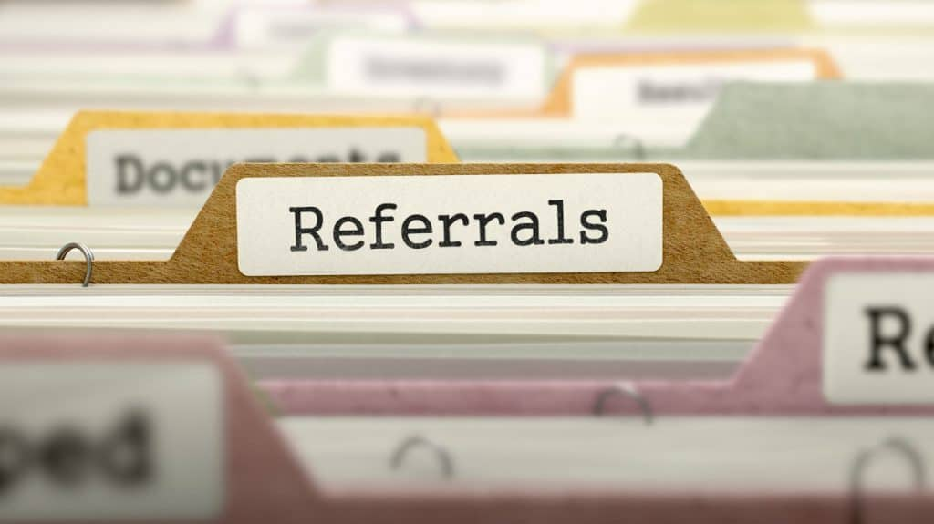 Website Referral Programme